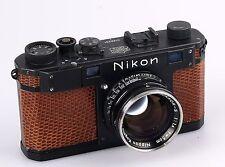 Nikon Model S Rangefinder camera with 5cm F1.4 lens.
