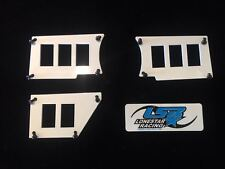 POLARIS RZR DASH SWITCH PLATES PANELS Gloss White FITS ALL XP RZR XP1000 2014+