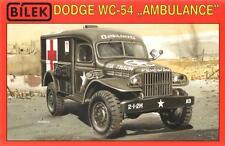 DODGE WC  54 -  WW II MILITARY AMBULANCE (RED CROSS) 1/35 BILEK RARE!