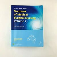Textbook of Medical-Surgical Nursing by Maureen Farrell (Volume 2 only) 4,e