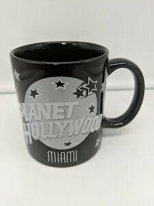 Planet Hollywood Souvenir Cup, Mug, Ceramic, Collectible Miami (1991) Vintage