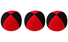3 X Henrys Jonglierball Bean Bag Superior medium  67 mm 3X Rot-Schwarz