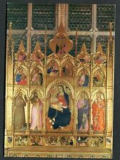 C1980 Art Card - 'Virgin and Saints' by Giovanni Del Biondo