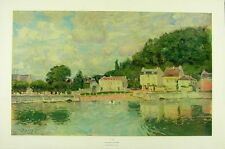 Bluemner Old Canal Port Giant Poster Art Print Llf0891