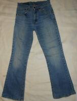 180 A7 LEVIS Levi  Strauss 525  Jeans Hose W28 L30 blau  Denim Boot cut