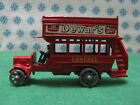 "Vintage Matchbox - ""8"" type London Bus 1912/1920 - Lesney n° Y2"