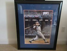 Mickey Mantle #7 Signed 29x34 with Oversized Signature Poster LOA PSA/DNA & JSA