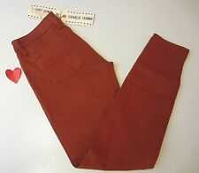 Lucky Brand W's 12/31 Regular Charlie Skinny Jeans 7WD1915 Rust $99.NWT