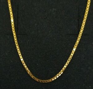 Chain Gold 18k. 19 11/16in 5,96 Grs