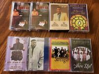 John P. See Lot of 8 Gospel Religious Spiritual Cassettes