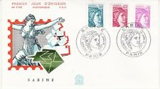 Enveloppe 1er jour FDC n°1195- 1981 - Sabine