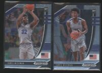 Lot (x2) 2020 Prizm Draft Picks JAMES WISEMAN Mixed Rookie Cards RC Warriors