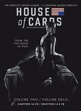 House of Cards: Season 2 (DVD, 2014, 4-Disc Set, Canadian)