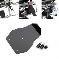13+ Aluminum Number Plate Splash Guard License Plate Holder For BMW R 1200 GS LC