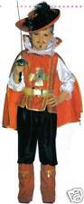 Costume deguisement ENFANT MOUSQUETAIRE ROUGE 4/5 ANS PROMO
