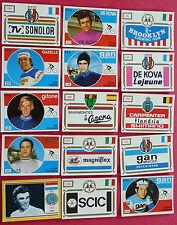 PANINI SPRINT 73 15 STICKERS DIFF. CYCLISME 1973 CICLISMO WIELRIJDER RADFAHREN