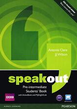 SPEAKOUT Pre-Intermediate Students' Book w DVD/ActiveBook & MyEnglishLab @NEW@