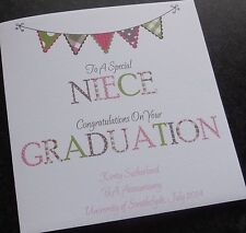 Personalised Congratulations On Your Graduation Card (GR2)