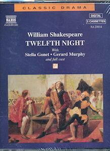 Audio book - Twelfth Night by William Shakespeare   -   Cass