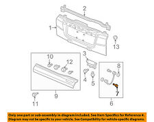 HONDA OEM 09-11 Element Tail Gate Tailgate Hatch-Support Cable Bolt 90113SR3003