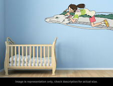 Ghibli Spirited Away - Chihiro and Haku Wall Art Applique Sticker