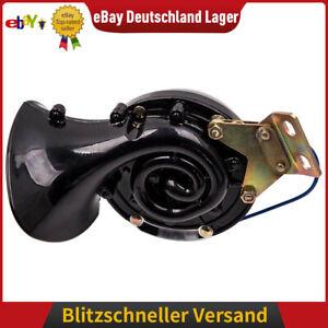 300dB 12V Elektrische Horn Air Horn Loud Rasender Sound für Auto LKW PKW Boote