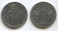 G1732 - Vatikan 50 Centesimi 1941-III KM#25a Pius XII.1939-1958 Vaticano