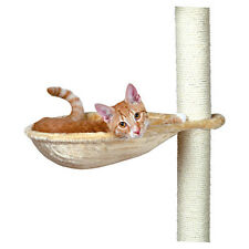 TRIXIE CHATS cuvette pour arbre a chat beige , cadre métallique