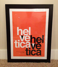 Helvetica Typography Font Poster 18 x 24 - Graphic Design
