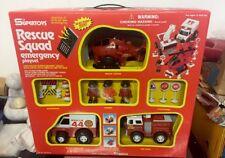 Vintage SuperToys Rescue Squad Emergency Playset New !!
