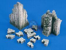 Verlinden 1/35 Ruined Castle Sections [Plaster Diorama Model kit] 1698