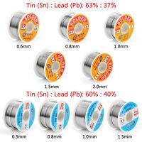 100g 63/37 60/40 Tin lead Rosin Core Solder Wire Soldering Welding Flux 2% B4