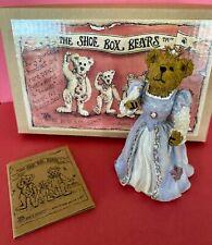 Boyds True Blue Shoe Box Bear Cinderellie 1st Ed #3240 Original Box