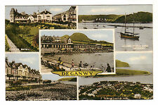 Deganwy - Multiview Photo Postcard 1959