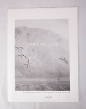 SIGNED Three Valleys: LBM Dispatch #4 by both Alec Soth and Brad Zellar LIKE NEW