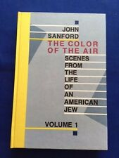 THE COLOR OF THE AIR - SIGNED LIMITED EDITION BY JOHN SANFORD