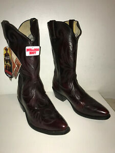 Men's Durango Oxblood Cowboy Boots DB4425. Size 11 EE with Tags