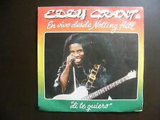 "SP EDDY GRANT ""Say I love you"" Ice Records 02.3171/1 Espagne (1982)"