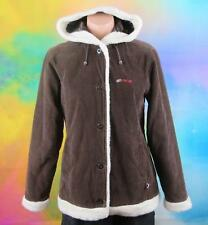 nrg, Size 8 Womans, Brown & White Corduroy Jacket
