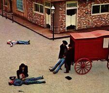 Ghost Town western gun fight dead Ghost Mountain Park Maggie NC Vintage Postcard