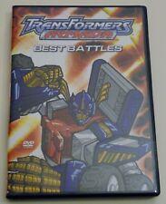 Transformers Armada : Best Battles DVD Used animation