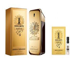 One 1 Million Parfum by Paco Rabanne Eau De Parfum New In Box