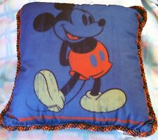 New Disney Classic Mickey Mouse Poster Art Throw Pillow