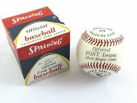 Vintage Spalding SPB 172 41-133 Official Pony League Baseball c1950s/60s Sealed!