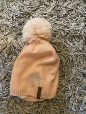 Lovely Girls Wooly Hat Excellent Condition Pink Sparkles