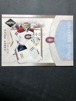 2011-12 Panini Limited Crease Cleaners #3 Carey Price 191/199
