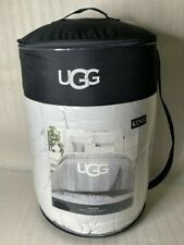 UGG Asher King 3pc 1 Comforter set Gray⭐️READ DESCRIPTION.