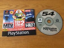 SONY PS1 DEMO DISC 54 - Pac-man World, Sled Storm, Worms Armageddon, Centipede
