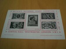 TOP Stampex 1962  Britanien`s national Stamp Exhibition Postfrisch