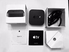 Apple TV 2nd Gen MC572LL/A HDMI Media Streamer Black w/ Power Cable NO REMOTE